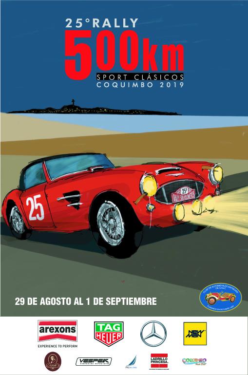 Edición 25 Aniversario «Rally 500 Km Sport Clásicos»